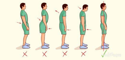 posture pour grandir