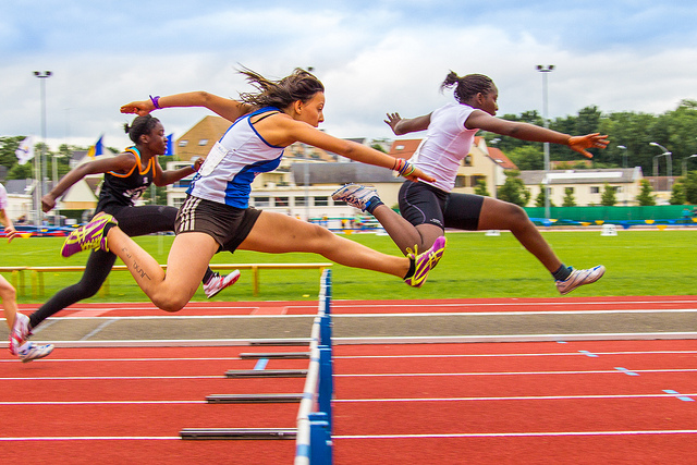 athlétisme croissance